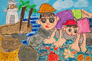 水辺の風景画コンテスト