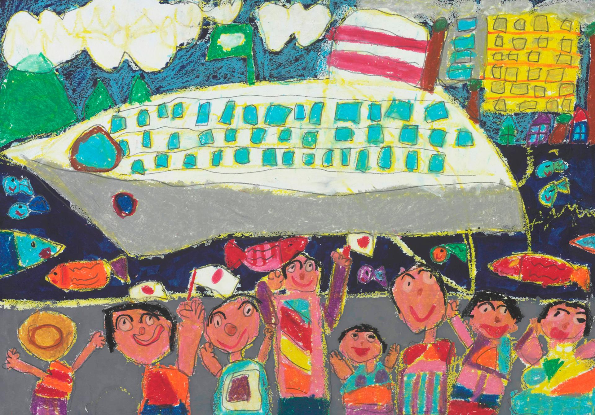 平成27年度・第27回 作品紹介|全国児童 水辺の風景画コンテスト|公益 ...